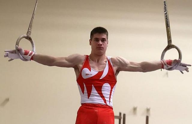 Media name  Vlada Raković apsolutni prvak Srbije u gimnastici Foto: privatna arhiva