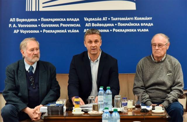 Zeljko Vuletic, Vladimir Batez i Andrija Sil/Pokrajinska vlada