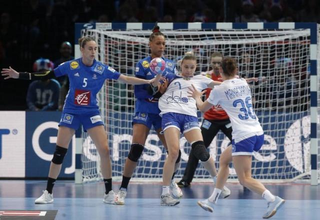 Sa finalnog meča Francuska-Rusija Foto: FoNet