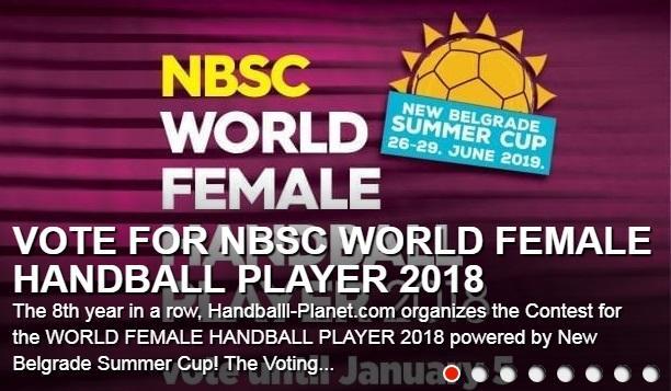 """Izbor """"Handball-Planet""""-a za najbolju igračicu sveta u 2018. godine Foto: promo/printskrin"""