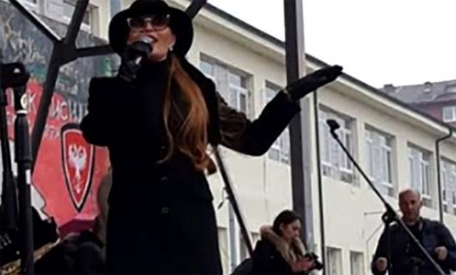 Ceca Raznatovic na Kosovu/Jutjub