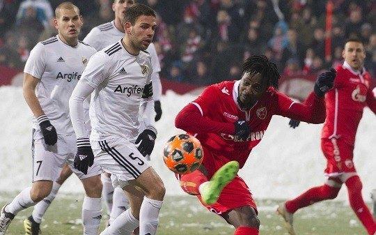 Boaći pogodio za trijumf crveno-belih Foto: crvenazvezdafk.com