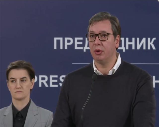 Predsednik Srbije , Aleksandar Vučić, premijerka Ana Brnabić  Foto: Tanjug