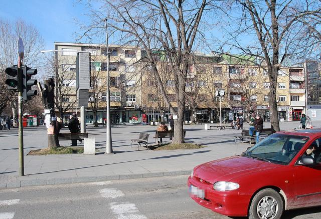 Ruma, Gradski trg Foto: Dnevnik.rs/B. Lučić