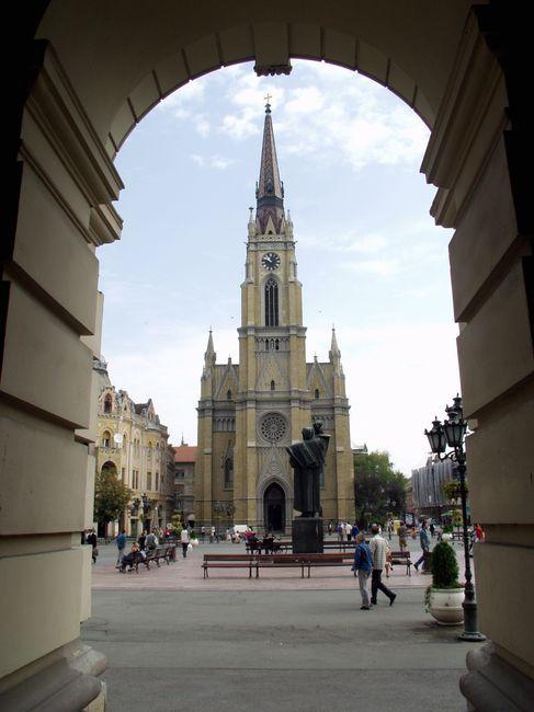 Info-centar treba da bude blizu Katedrale foto: Dnevnik.rs