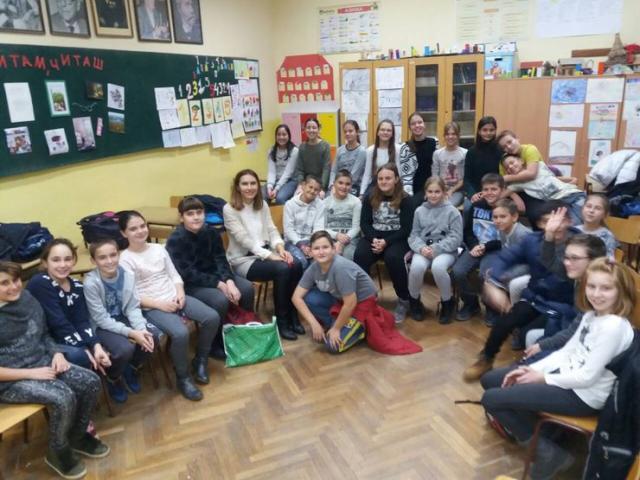 """Klub čitalaca u Osnovnoj školi """"Veljko Petrović"""" u Begeču Foto:Dnevnik.rs/ S. Šušnjević"""