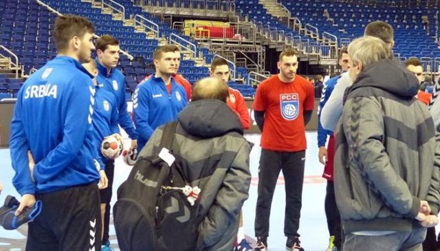 Rukometasi Srbije na treningu/RSS