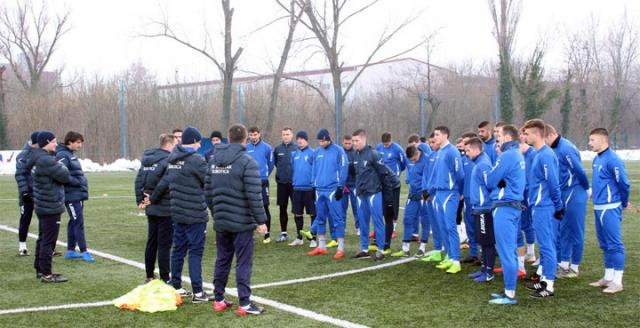 Pripreme FK Spartaka Zdrepceve krvi/FK Spartak