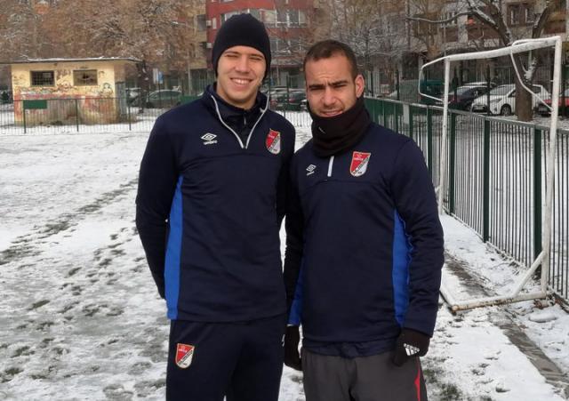 Zarija Lambulic i Nemanja Covic