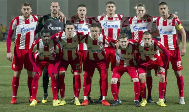 Crvena zvezda u Antaliji/FK Crvena zvezda
