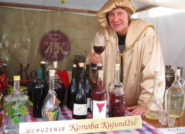 Vitez vina i čuvar salašarskih tradicija Miodrag Kujundžić iz Subotice Foto: M. Mitrović