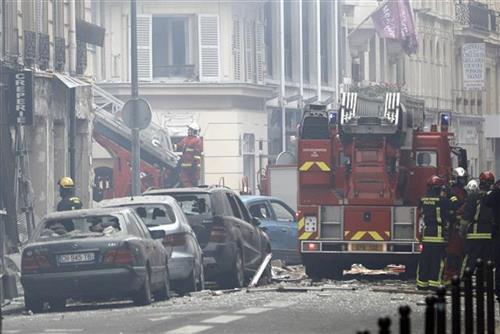 Eksplozija u Parizu Foto: AP foto - Kamil Zihnioglu