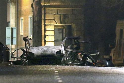 Eksplozija u Londonderiju Foto: Steven McAuley/PA via AP