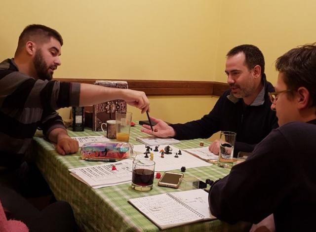 """Sa jedne novosadske partije """"Dungeons and Dragons"""" Foto: N. Tomić"""