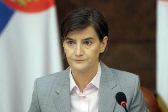 Ana Brnabic/Fonet/Vlada