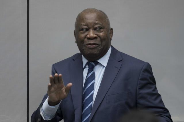Loren Gbagba, bivši predsednik Obale Slonovače  Foto:  EPA-EFE/PETER DEJONG / POOL