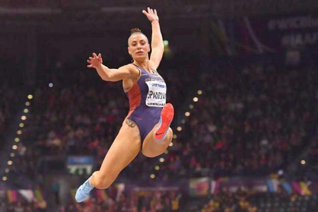 Ivana Španović: Godinu je obeležilo to što sam postala svetska prvakinja u dvorani. Foto: AP Photo