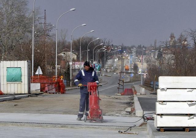 Radovi na Sentandrejskom mostu i bulevaru Foto: F. Bakić