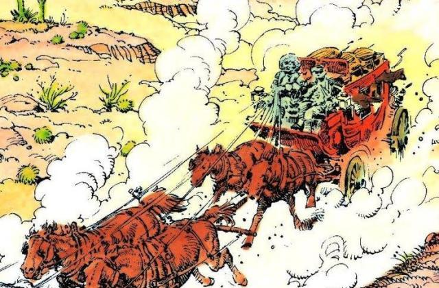 "Vestern strip ""Mek Koj"" scenariste Žana-Pjera Gurmelana i crtača Antonija Ernandeza Palasiosa Foto: privatna arhiva"