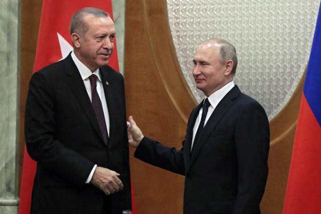 Erdogan i Putin/Fonet/AP