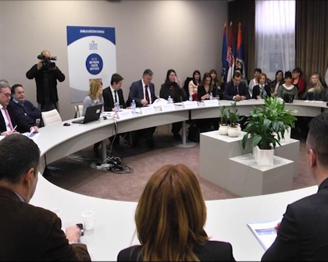"""Predstavnici DRI u Skupštini Vojvodine na temu """"Protivgradna zaštita u Republici Srbiji"""" Foto: Tanjug/video"""