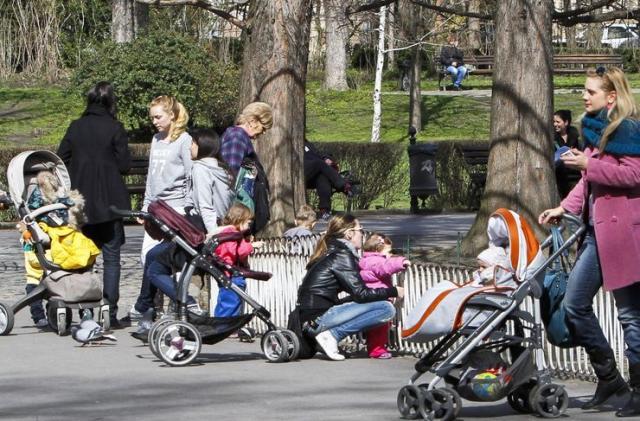 Bebe u Dunavskom parku Фото:Dnevnik.rs/R. Hadžić