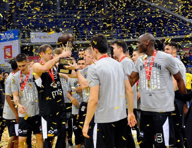 Partizan osvajac Kupa Radivoja Koraca/Konstadin Kamenov