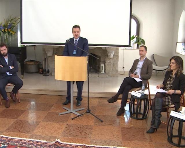 Dačić na Tanjugovom panelu o odnosima Srba i Albanaca Foto: Tanjug/video