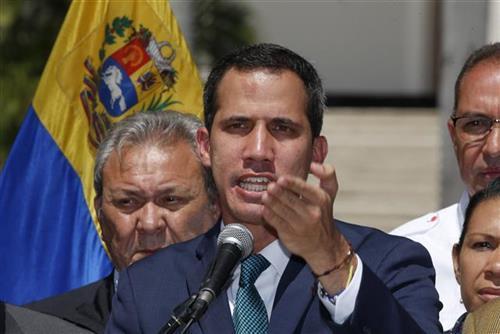 Lider opozicije u Venecueli Huan Gvaido Foto: AP Photo/Fernando Llano