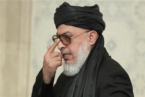 Šef talibanske delegacije koja se nalazi u Moskvi Foto: AP Photo/Pavel Golovkin