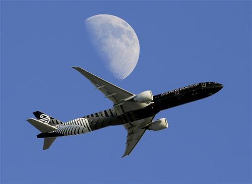 "Avion novozelandske avio-kompanije ""Er Nju Ziland"" Foto: AP Photo/Mark Baker, File, AP Photo/Nick Ut"