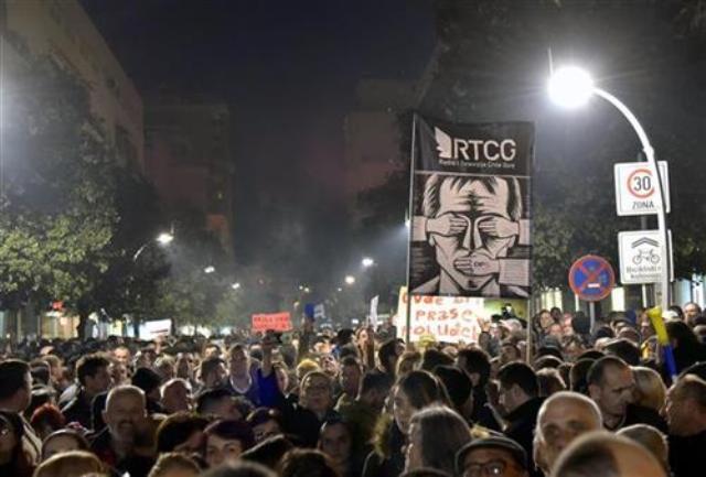 djukanovic protesti