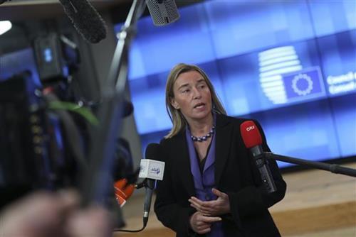 Predstavnica EU za spoljnu politiku i bezbednost Federika Mogerini Foto: AP Photo/Francisco Seco