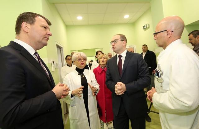 Otvaranje rekonstruisane Kliniku za ortopedsku hirurgiju i traumatologiju Kliničkog centra Vojvodine Foto: Tanjug/J. Pap
