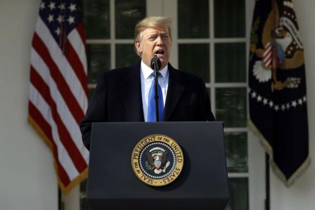 Tramp Donald/Fonet/AP