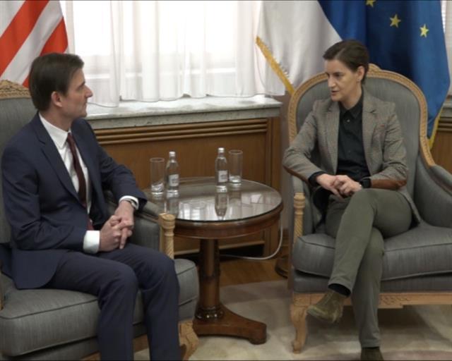Hejl i Brnabić Foto: Tanjug/video