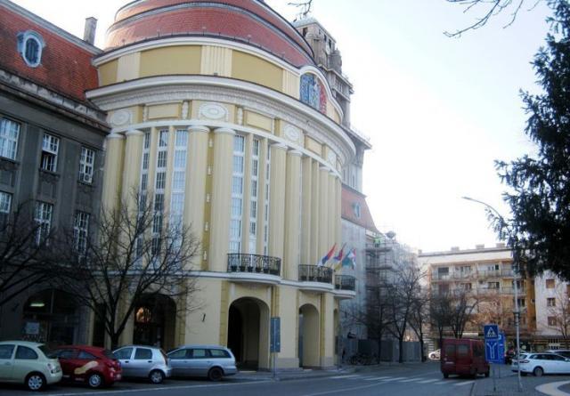 Zgrada opštine Senta foto: M. Mitrović