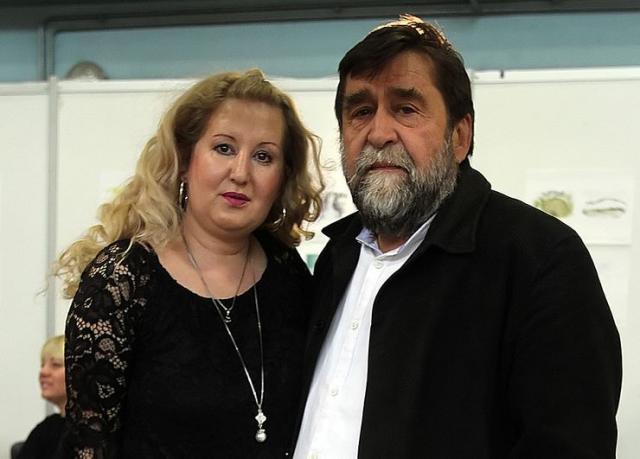 Mirjana Brkljač Hemon i Radovan Vlahović Foto: F. Bakić