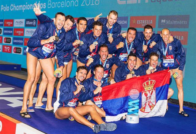 Vaterpolisti Srbije 2018/VSS