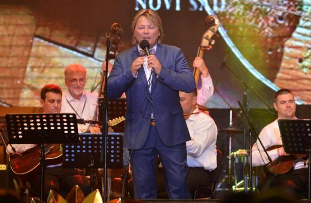 Vokalni solista Đorđe Čavić Foto: Aleksandar Milutinović