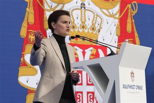 Premijerka Ana Brnabić foto: Tanjug/video