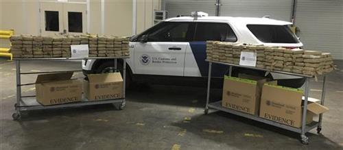 Najveća zaplena droge u Filadelfiji Foto: U.S. Customs and Border Protection via AP