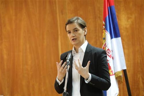 Ana Brnabić  Foto Tanjug/ vlada Republike Srbije/ S.  Miljevic