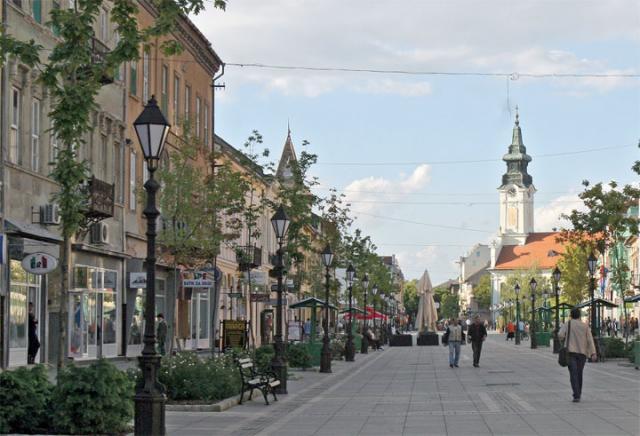 Sombor centar grada/A. Erski