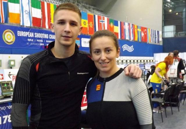 Lazar Kovačević i Andrea Arsović Foto: SSS