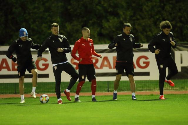 trening reprezentacije srbije, fss
