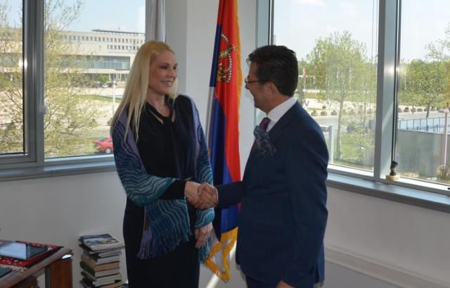 Popović Ivković i Oricio o nastavku saradnji MUP i OEBS Foto: Odeljenje za medije i komunikacije MUP Srbije