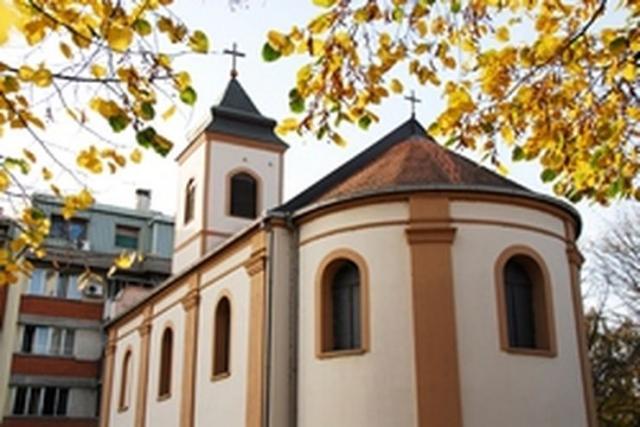 Obimni radovi oko hrama Svetog Nikole Foto: Opština Pećinci