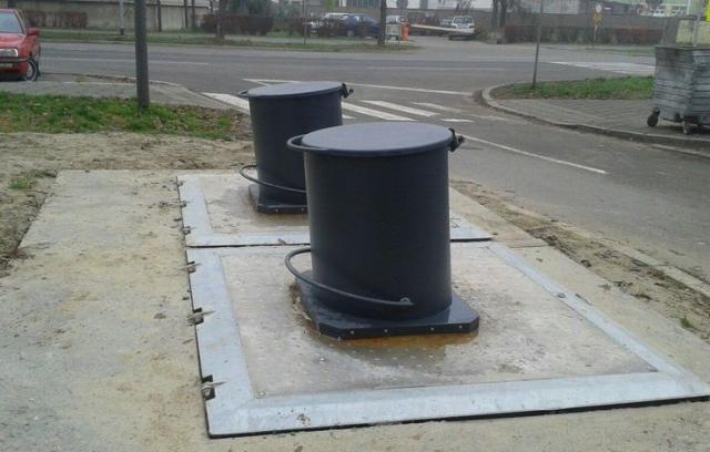 Podzemni kontejneri Foto: Dnevnik.rs