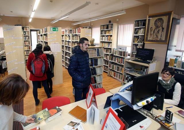 Biblioteka Grada Novog Sada Foto: Dnevnik.rs/ B.Lučić